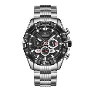ساعت مردانه نقره ای